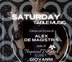 SATURDAY / TABLE MUSIC 31/10