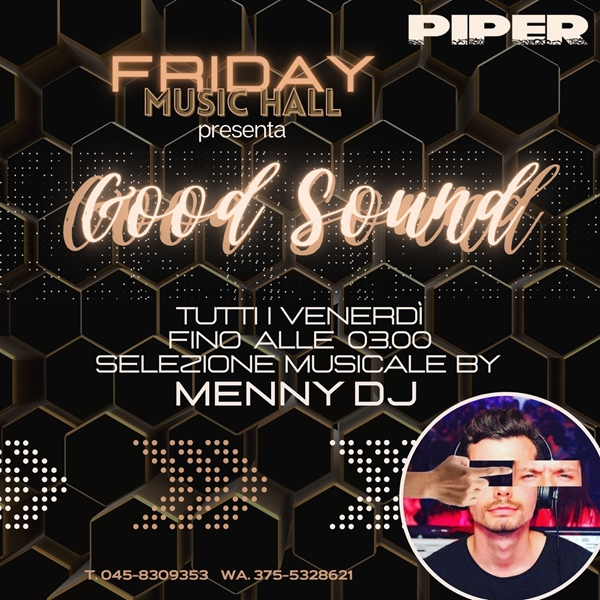 VENERDI ♫GOOD SOUND 16/10